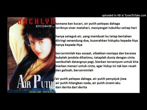 JACKLYN  - Air Putih (Deddy Dores)