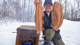 Smoking Salmon in a Cardboard Box (Catch and Cook)