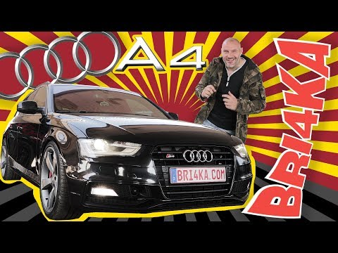 Audi A4 B8 |2007 -2015 | Test and Review | Bri4ka.com