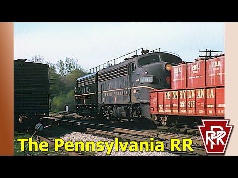 Pennsylvania Railroad-Remastered HD 1080p