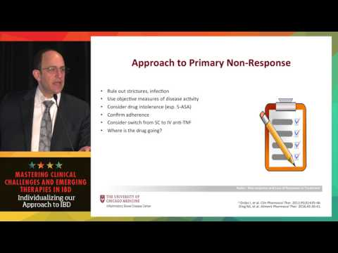 Understanding non-response and loss of response in IBD: Which is it and when do we change classes?