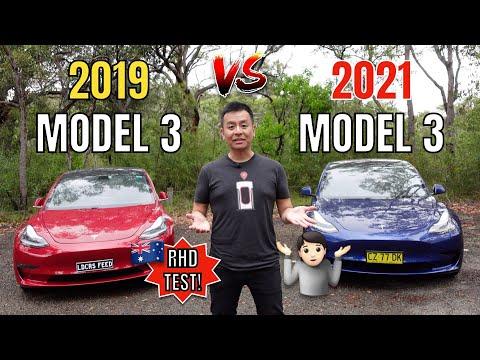 2021 v 2019 Model 3 Comparison | RHD Tesla Australia Review | TeslaTom