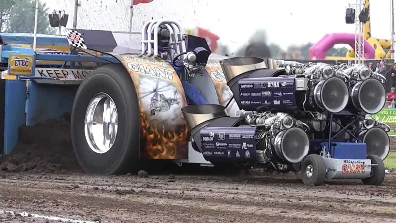 Tractor Pulling MADE 2012 - 4 5T Heavy Modified EUROCUP - FULL