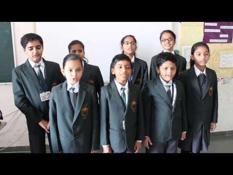 SANSKRIT SHALOK SING BY CLASS 4 B DPST