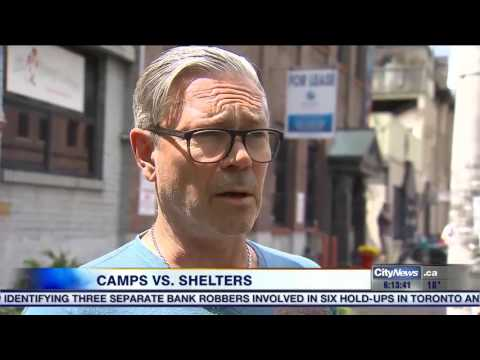 Video: Tent cities on the rise as shelters remain near capacity