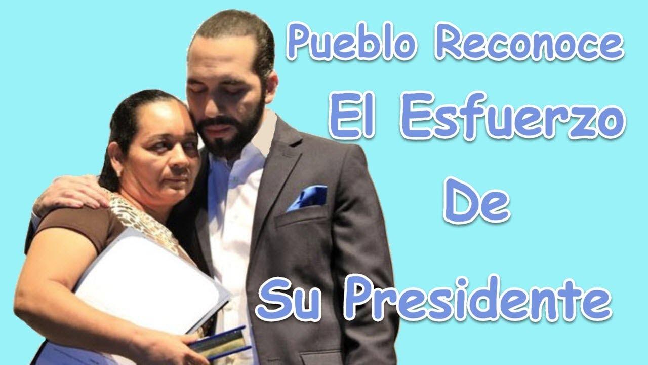 9 de Cada 10 Salvadoreños Apoyan al Presidente Nayib Bukele