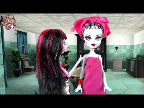 МОНСТЕР ХАЙ - МУЛЬТФИЛЬМ ДЛЯ ДЕВОЧЕК! Куклы Monster High Мультик Видео для детей
