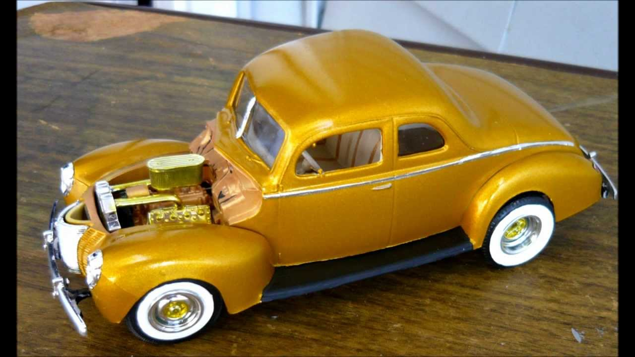 1940 Ford Coupe lindberg kit 1/25 scale & 1940 Ford Coupe lindberg kit 1/25 scale - YouTube markmcfarlin.com