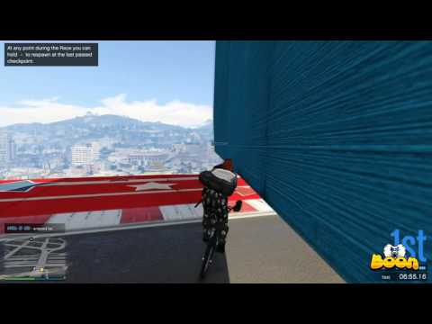bmx challange, team vs team leggo - gta v