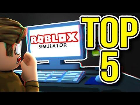 Top 5 ROBLOX SIMULATOR GAMES | Best Simulators Ever!!