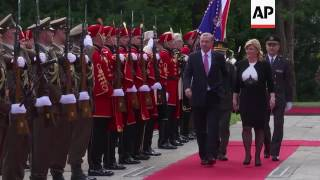 Erdogan arrives for two day visit to Croatia