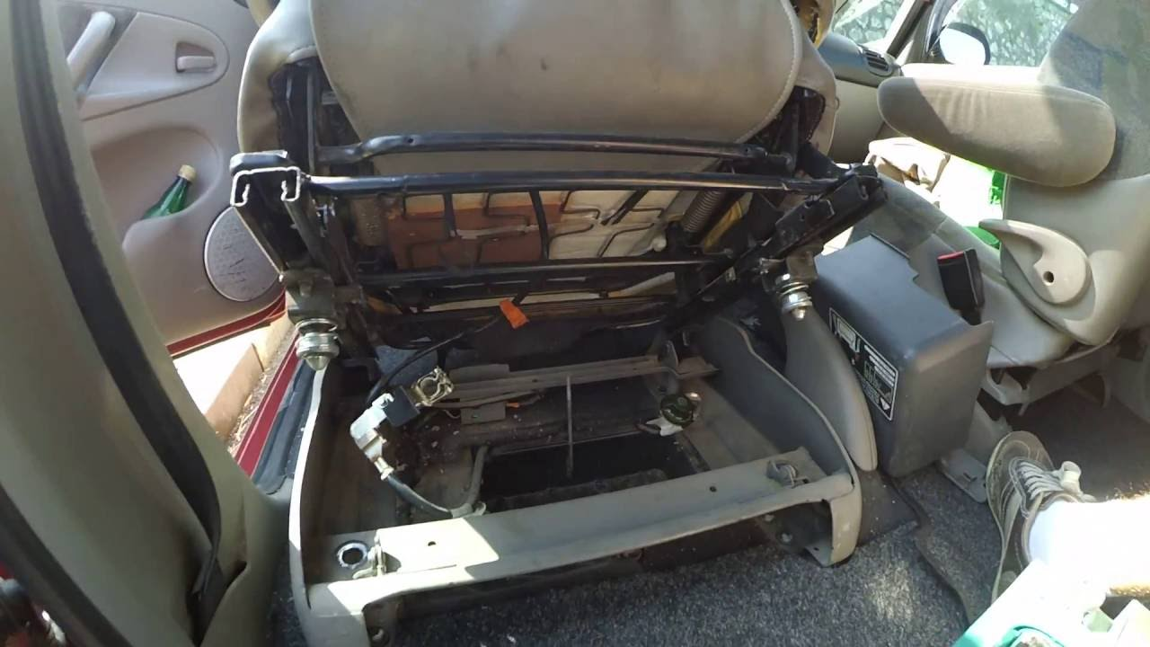 Front Seats Held By Torx T40 Screws Xsara Picasso Youtube
