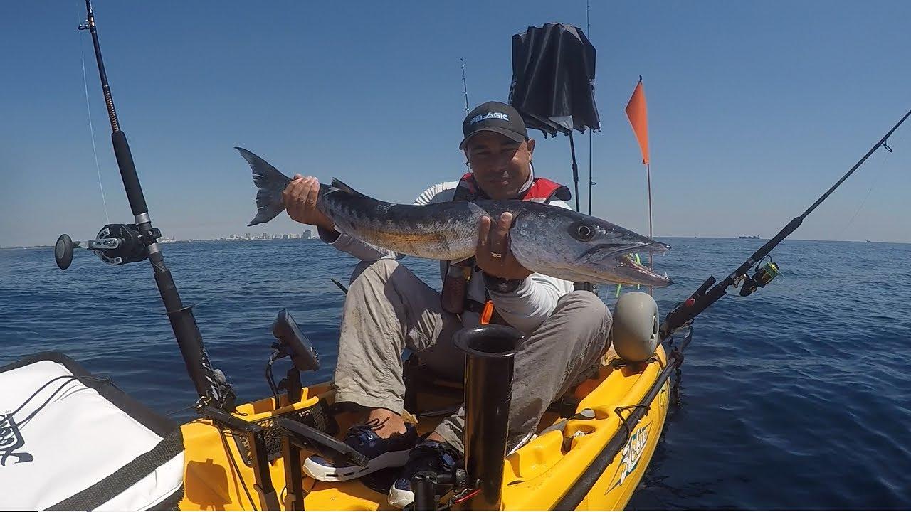 Offshore kayak fishing barracuda bonito yellowjack for Offshore kayak fishing