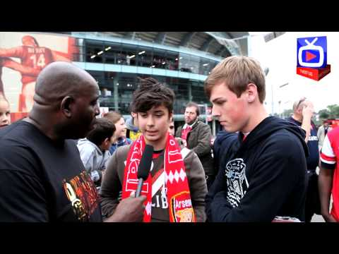 Arsenal FC 3  Stoke City 1 -  Flamini Was Outstanding - FanTalk  - ArsenalFanTV.com