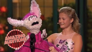 ALL Darci Lynne's Performances On America's Got Talent   Amazing Auditions