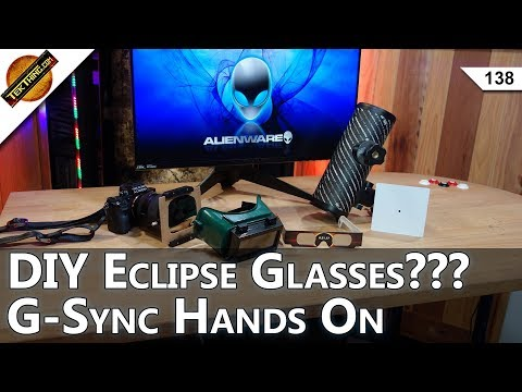 You Can Make Eclipse Glasses, Password Managers Hacked? G-SYNC Gaming!
