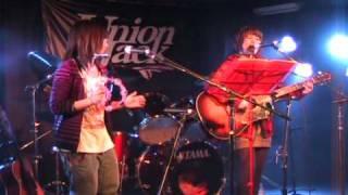 稲沢のライブハウス「Union Jack」で歌いました。最後の方もた...