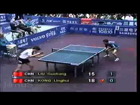 1995 WTTC (MS-Final)  KONG Linghui Vs LIU Guoliang [Full* Match/Chinese]