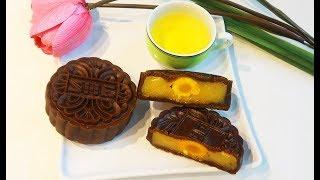 Cách làm Bánh Trung Thu Socola nhân đậu xanh Handmade tại nhà chi tiết