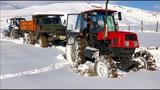 Трактор Беларус против УРАЛ и Трактор ЛТЗ 60