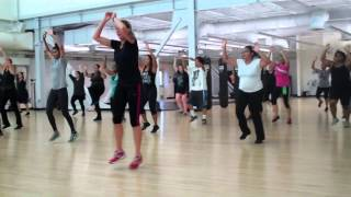 San Diego City College Cardio Kickboxing Fall 2013 Coach Bodnar