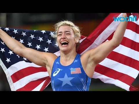 Helen Maroulis First US Woman To Win Gold In Wrestling