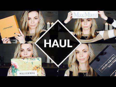 HAUL: Louis Vuitton, Calvin Klein, Ralph Lauren, Lambert, Max Mara, Intimissimi