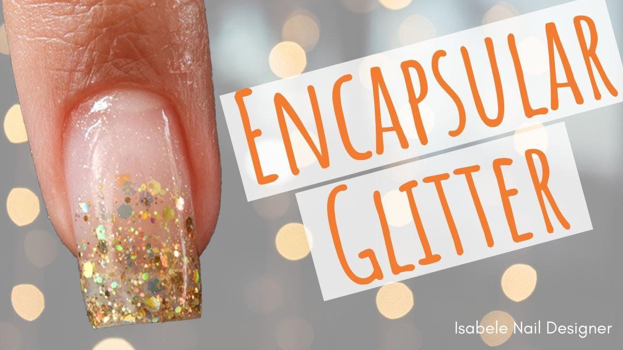 Download Como Fazer Unha Encapsulada Com Glitter (UNHA DECORADA SIMPLES)