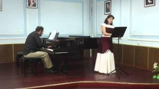 "F. Schubert. ""Die Mainacht""(Viktoria Zabolotska, Oleksandr Moskalets)"