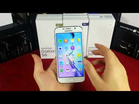 2015 New samsung galaxy s6 phone for 1:1 china mobile phone Android Lollipop