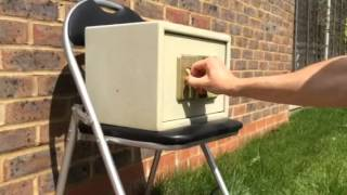 InsiniaSec shows how to crack a digital solenoid safe with your bare hands!