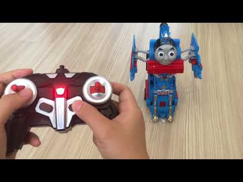Deformation Thomas and friends  RC Remote Control Transforming Thomas Dancing Thomas