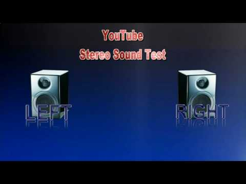 Youtube Stereo Sound Test (Version 2)