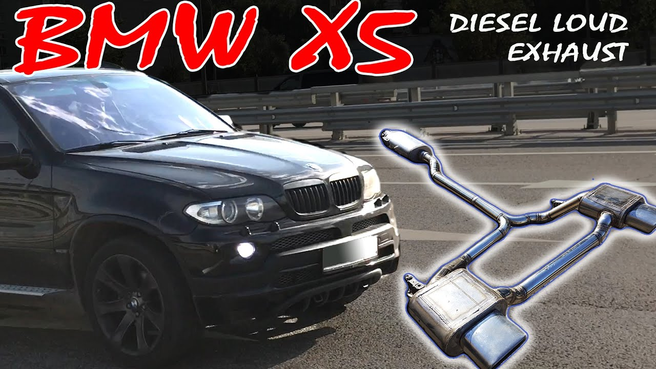 Welding Loud Exhaust System Bmw X5 E53 M57 Turbo Diesel Exhaust