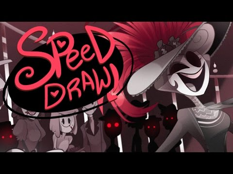 SPEED DRAW- Hello Dolly (Hazbin Hotel)- Vivziepop