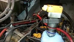CAT diesel engine servicing vedios - YouTube