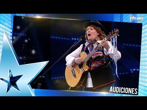 SILVIA nos enamoró a todos con su hermosa voz