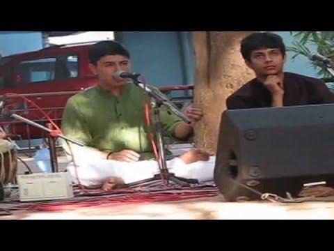 Sudhanshu's Vocal at Suvarnaratna Garden