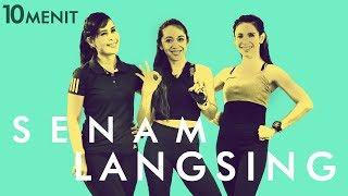 Download lagu Yuk Bakar Lemak Tubuh Dengan Senam Langsing 10 Menit Gerakan Senam MP3