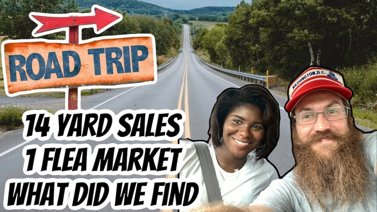 Yard Sale Road Trip To Pennsylvania To Resell On Etsy and Ebay - Over The Years