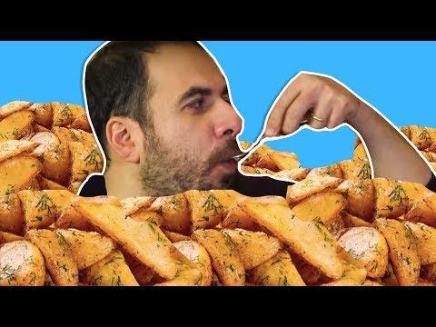 Patates Kızartması Yeme Kapışması - Kim Pes Edecek?