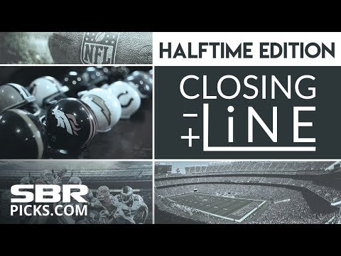 NFL Halftime Betting Show | Free NFL Picks | Closing Line