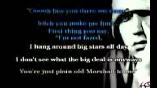 Eminem - Superman (Instrumental / Karaoke with lyrics + vocals)