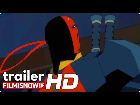 Deathstroke Knights Dragons The Movie Trailer 2020 Dc Comics Animated Movie Youtube