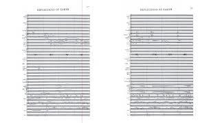 Illuminations: Reflections of Earth - original handwritten score by Gavin Greenaway