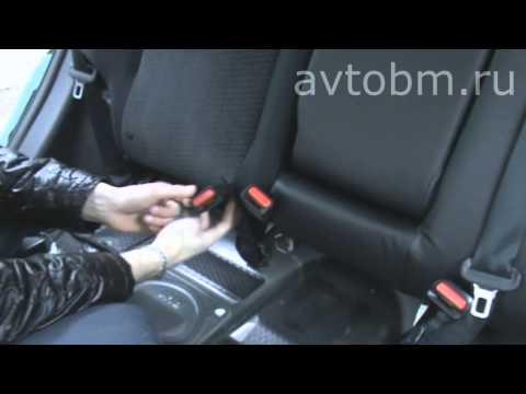 """Установка авточехлов «B&M» на сиденья автомобиля """"Nissan X-Trail"""" (T31)"""