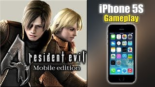 Resident Evil 4 - iPhone 5S Gameplay