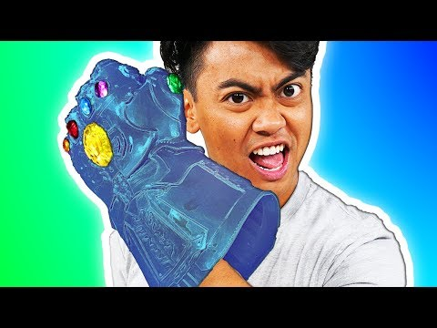 DIY Thanos Infinity Gauntlet CANDY!