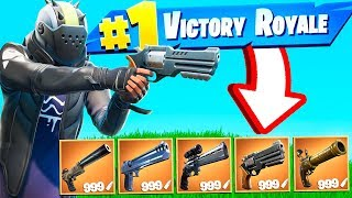 GIOCARE A FORTNITE USANDO SOLO LE PISTOLE! *BATTLE ROYALE*