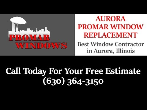 Best Window and Door Replacement Company| (630) 364-3150 | Aurora, IL